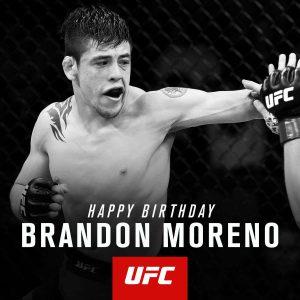 Наилегчайший вес: Брэндон Морено. Возраст — 23 года