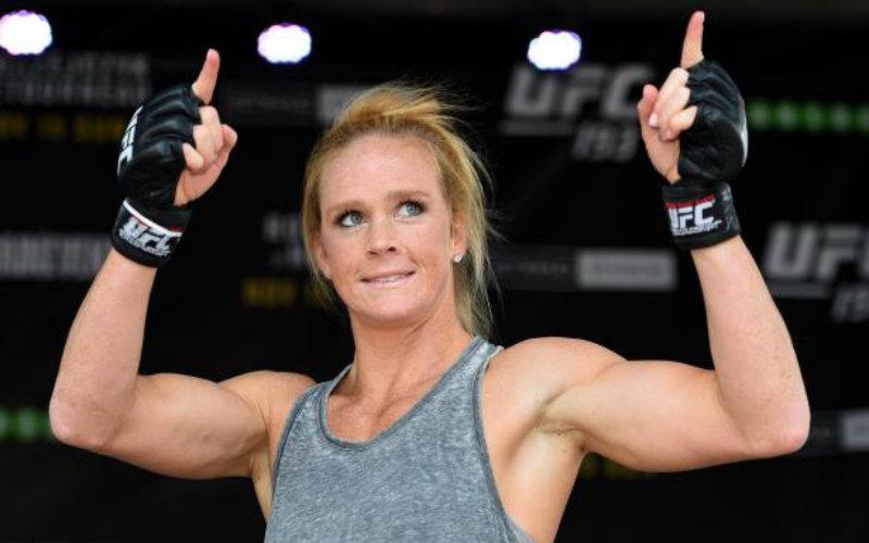 Бой Холли Холм — Жермейн де Рандами: смотреть онлайн видео трансляцию UFC 208 сегодня, 11 февраля 2017