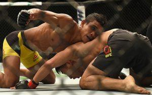 Бой Магомед Бибулатов vs. Женель Лауса — 8.04.2017 на UFC 210