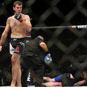 Никита Крылов покинул UFC