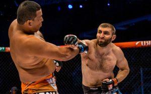 Бой Дмитрий Побережец vs. Ярис Данхо — часть карда UFC 211