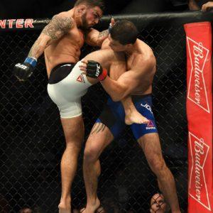 Джейк Элленбергер и Майк Перри — участники UFC Fight Night 108