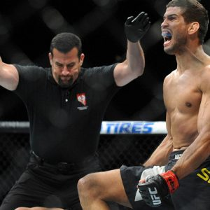 Оливье Обин-Мерсье на UFC 212 встретится с Леонардо Сантосом