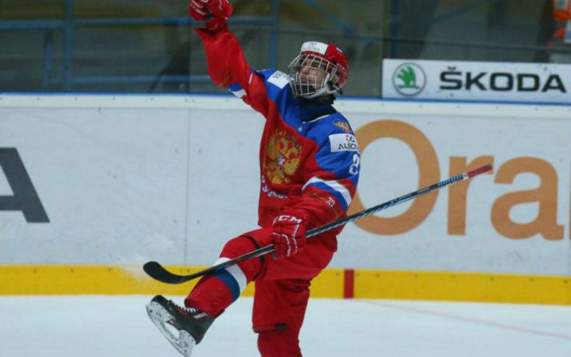 Хоккей Россия U18 — США U18: смотреть онлайн видео трансляцию чемпионата мира сегодня, 15.04.2017