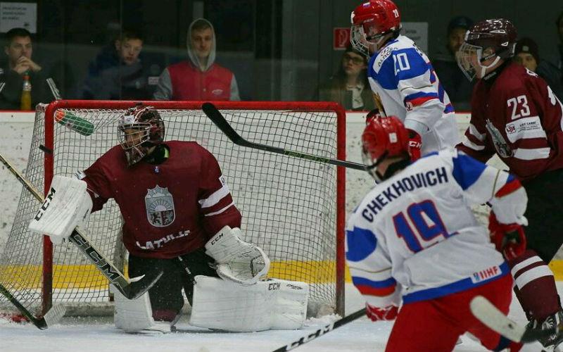 Хоккей Россия U18 — Беларусь U18: смотреть онлайн видео трансляцию чемпионата мира сегодня, 17.04.2017