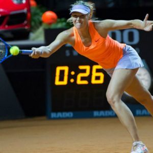 Мария Шарапова — Кристина Младенович: смотреть онлайн видео трансляцию полуфинала турнира в Штутгарте сегодня, 29 апреля 2017