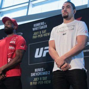 Йоэль Ромеро — Роберт Уиттакер 8.07.2017: прогноз на бой UFC 213