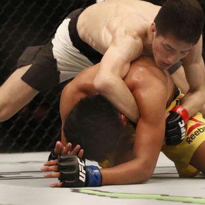 Наоки Инуе сразится с Женелем Лаусой на турнире UFC Fight Night 117