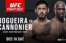 Ногейра, Каннонир, Ди Чирико и Бамбуши — участники UFC on FOX 26