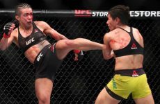 Андраде выиграла войну у Гадельи и другие результаты UFC Fight Night 117