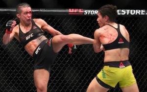 Андраде выиграла войну у Гадельи другие результаты UFC Fight Night 117