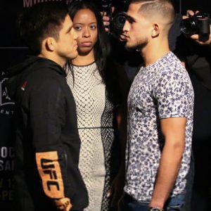 Генри Сехудо и Серхио Петтис разделят октагон на UFC 218