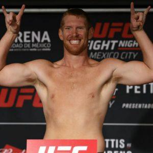 Сэм Альви провалил взвешивание перед UFC Fight Night 118