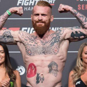 Джим Уоллхед покинул кард UFC Fight Night 118