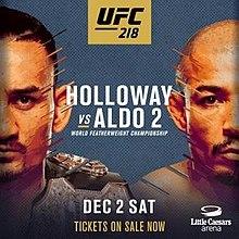 Постер к турниру UFC 218: «Холлоуэй vs. Альдо 2»