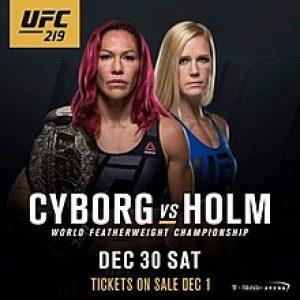 UFC 219: результаты, кард, участники, анонс, видео