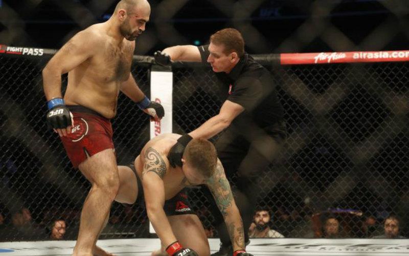 UFC Fight Night 122 вШанхае: результаты поединков Магомедшарипова, Абдурахимова иСалихова