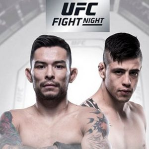 Рэй Борг померится силами с Брэндоном Морено на UFC Fight Night 126