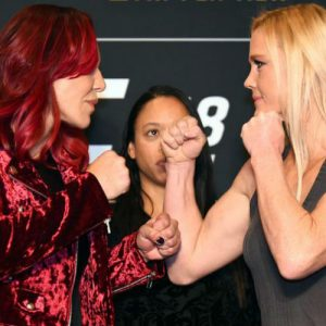 Смотреть онлайн UFC 219: прямая трансляция шоу «Жустино — Холм» от 31.12.2017