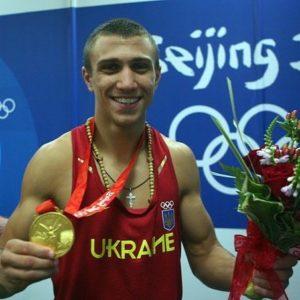 Василий ломаченко на олимпиаде в Пекине