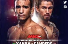 Видео боя Рэни Яя — Люк Сэндерс UFC Fight Night 135