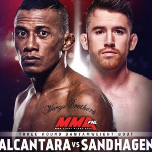 Видео боя Кори Сэндхаген — Юри Алькантара UFC Fight Night 135