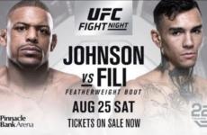 Видео боя Майкл Джонсон — Андре Фили UFC Fight Night 135