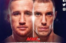 Видео боя Джеймс Вик — Джастин Гэтжи UFC Fight Night 135