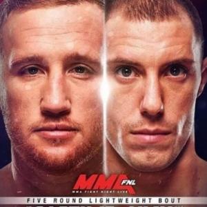 Видео боя Джеймс Вик - Джастин Гэтжи UFC Fight Night 135