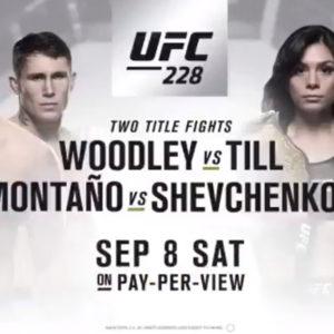 UFC 228: файткард, участники, информация, видео