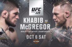 UFC 229: файткард, участники, информация, видео