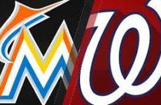 Прямая трансляция Вашингтон Нэшналс — Майами Марлинс. Бейсбол. МЛБ.