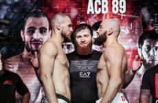 Альберт Дураев победил Петра Штруса на ACB 89