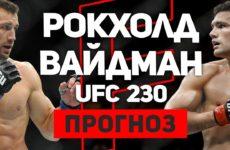Прогноз на бой Люк Рокхолд — Крис Вайдман UFC 230 03.11.2018