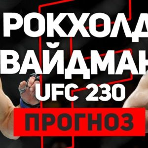 Прогноз на бой Люк Рокхолд - Крис Вайдман UFC 230 03.11.2018