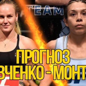 Прогноз на бой Валентина Шевченко - Никко Монтано UFC 228 08.09.2018
