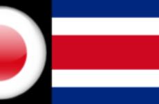 Прямая трансляция. Футбол. Товарищеский матч. Япония — Коста-Рика