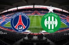 Прямая трансляция футбольного поединка ПСЖ — Сент-Этьен. Лига 1.