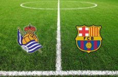 Прямая трансляция футбольного матча Реал Сосьедад — Барселона. Ла Лига.