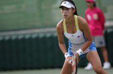 Видео. Теннис. Китаянка Ван Цян снялась из-за травмы в матче с Анетт Контавейт в Ухане.