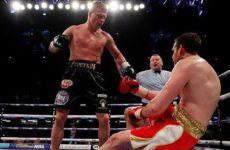 Боксеры и менеджер поздравили Александра Поветкина с Днем Рождения