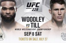 UFC 228. Смотреть все бои турнира