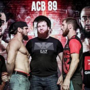 Видео боя Абдул-Азиз Абдулвахабов – Али Багов ACB 89