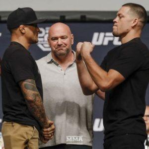 Поединок Нэйта Диаса и Дастина Порье на UFC 230 вероятнее всего будет титульным