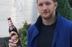 Владимир Минеев сделал рекламу с пивом Мугамеда Исмаилова