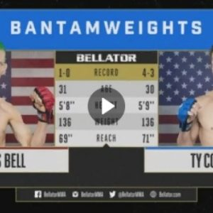 Видео боя Касс Белл – Ти Коста Bellator 206