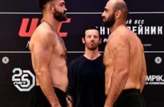 Результат боя Шамиль Абдурахимов — Андрей Орловский на UFC Fight Night 126 Moscow