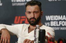 Видео боя Андрей Орловский — Шамиль Абдурахимов UFC Fight Night 136