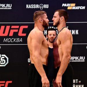 Результат боя Никита Крылов - Ян Блахович на UFC FIght Night 136 Moscow
