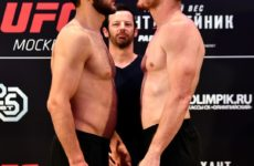 Результат боя Халид Муртазалиев — Си Би Доллоуэй на UFC Fight Night 136 Moscow
